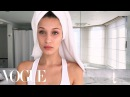 Bella Hadid's Jet-Lag Beauty Survival Guide | Beauty Secrets | Vogue