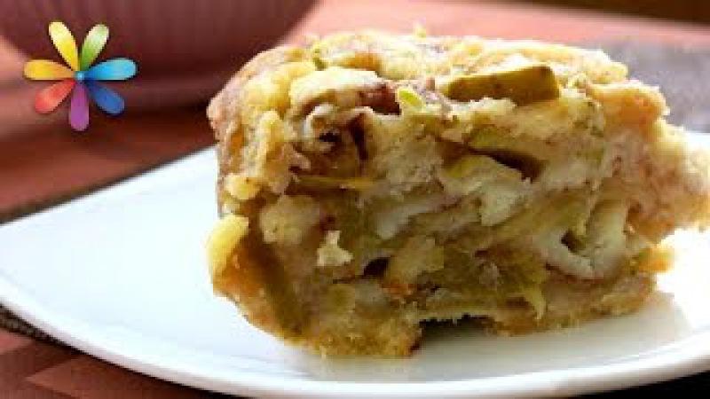 Насыпной яблочный пирог по-болгарски всего за 7 минут! – Все буде добре. Выпуск 878 от 13.09.16
