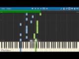 Serebro  Перепутала (пример игры на фортепиано) piano cover