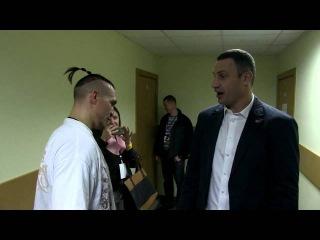 Кличко и Усик после боя: Саня, шо это такое?) @ukraineatamanspro