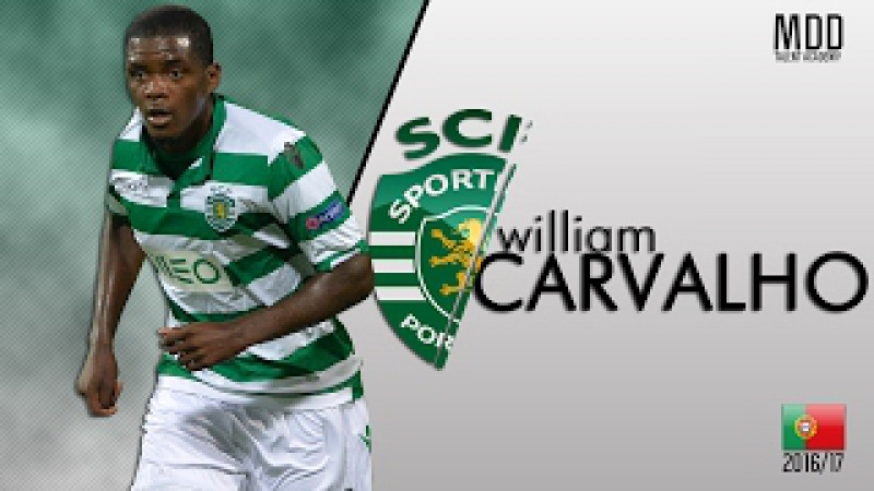William Carvalho | Sporting CP | Goals, Skills, Assists | 2016/17 - HD