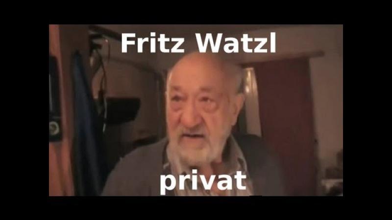 Fritz Watzl - Der letzte Zauberlehrling Schaubergers ganz privat