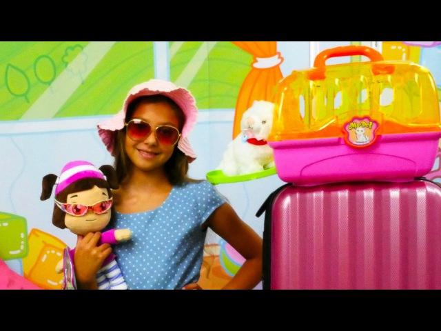 Türkçe izle-kız erkek çocuk oyunları/videoları.Hayal ailesi: Polen ve Leli kediye pasaport yapıyor