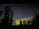 Aurora Timelapse  Finland  Lightroom version