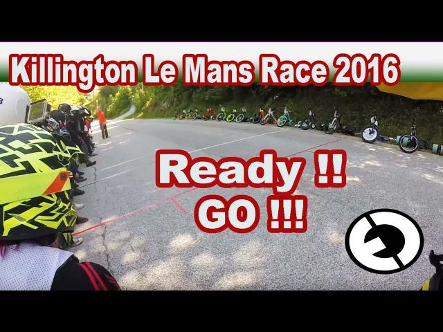 Drift Trike Race killington VT Le Mans Race 2016