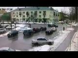Дтп авария перекресток красный свет девушка-водитель (Егорьевск, Подмосковье)
