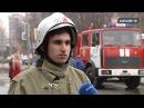 Школьники против огнеборцев в пожарной части устроили необычное занятие для де...