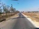 Приколы Российских дорог.Столбы на дороге.