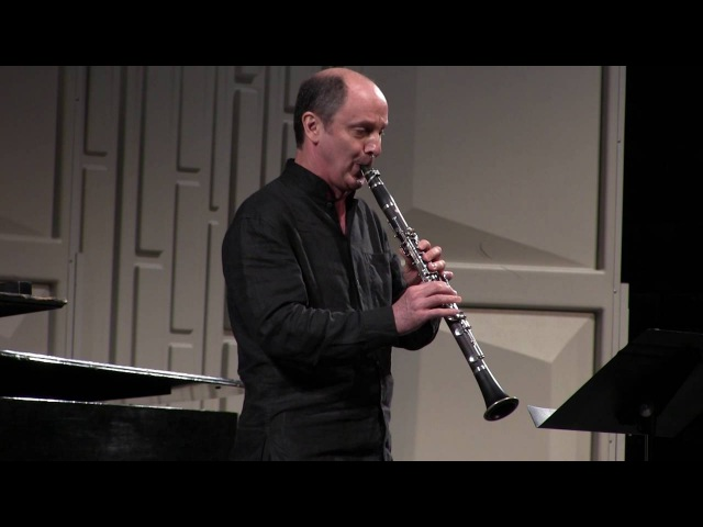 Philippe Cuper plays Sonatine by Jean Françaix for clarinet piano