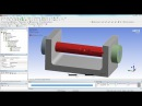ANSYS 15 Tutorial Frictional Contact Bolt Pretension