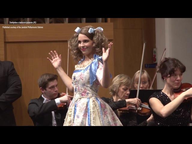 Patricia JANEČKOVÁ Les oiseaux dans la charmille (Jacques Offenbach - Les contes d Hoffmann)