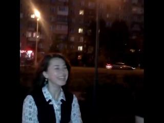 Суркова Екатерина - Импровизация опрос населения Омска (03.06.2016)