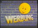 Рекламный блок и диктор (DFF1 ГДР, 1990) Hipp