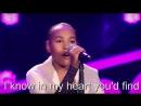 Невероятное исполнение песни Run To You На шоу Голос Дети в Германии 2017 годКараоке