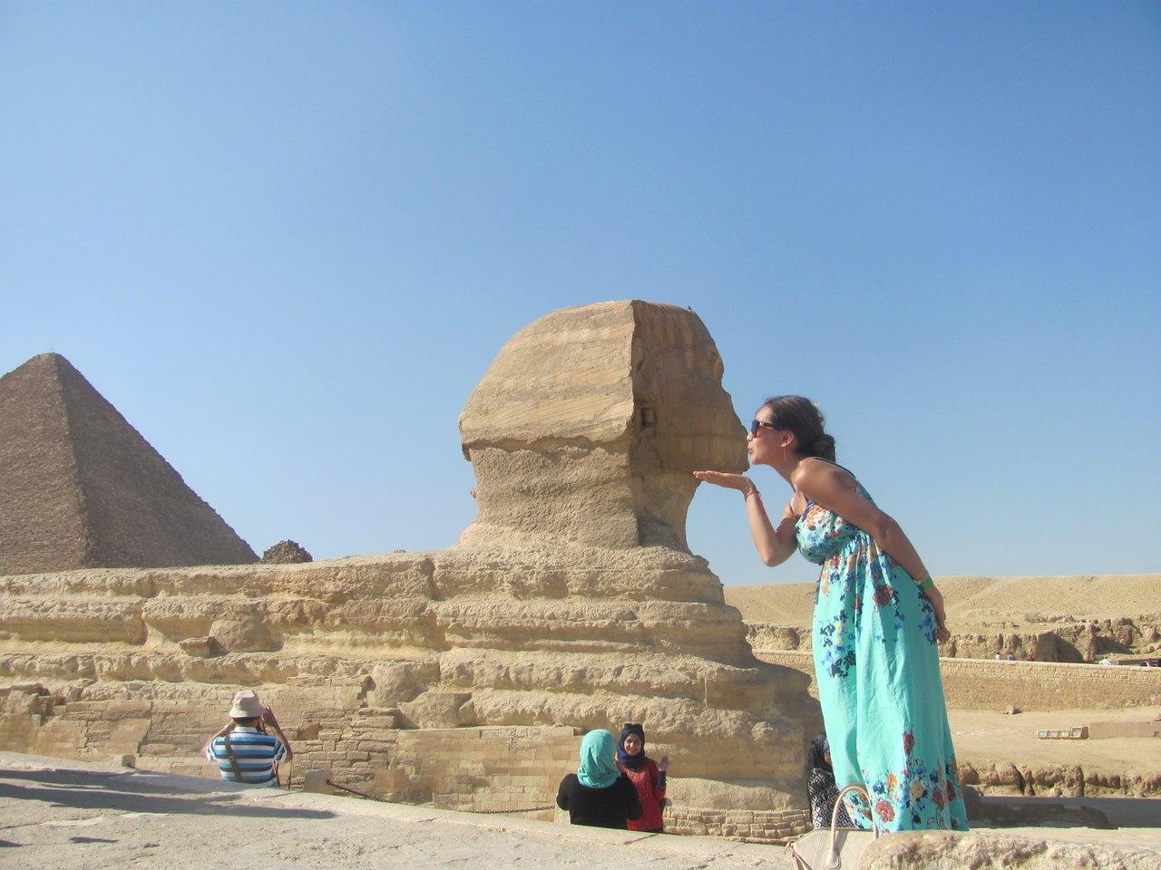 Привет из Египта!