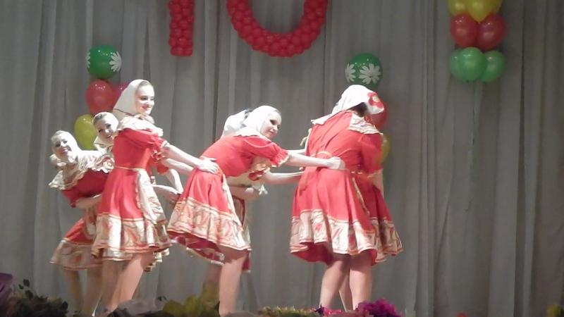 Юбилей ансамбля танца