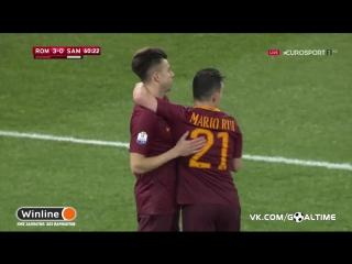 Рома - Сампдория 30. Стефан Эль-Шаарави