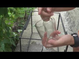 Экспериментатор. Как разрезать бутылку шнурком от обуви