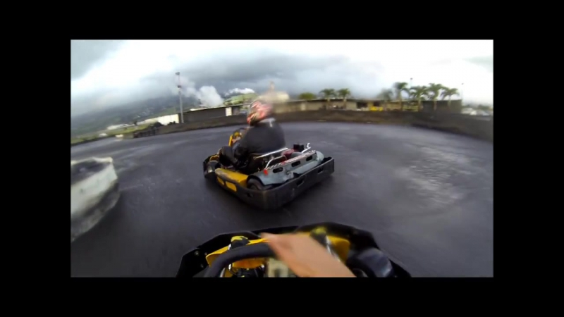 GO PRO BAMBINOS Reunion Island Karting Drift HD » Freewka.com - Смотреть онлайн в хорощем качестве
