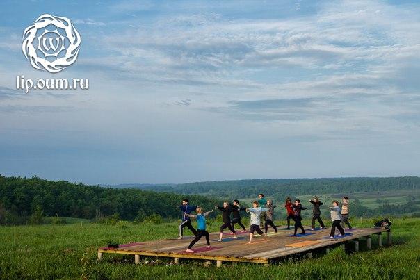 Йога-лагерь в эко-поселении Ржавец