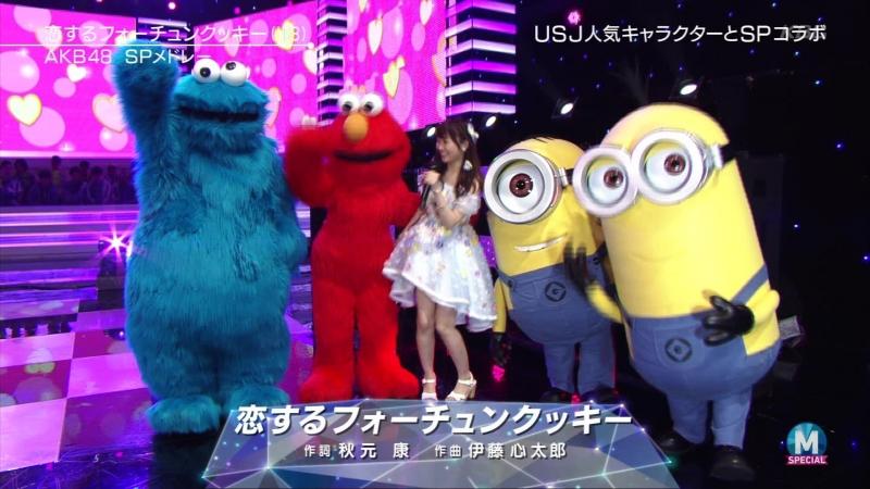 AKB48 - Tsubasa wa Iranai Koi suru Fortune Cookie (Music Station 2016.06.17)