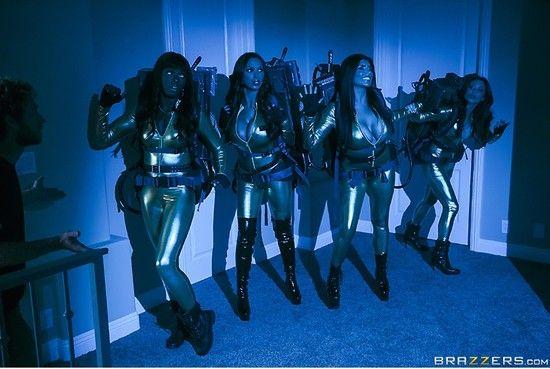 ZZSeries – Nikki Benz, Romi Rain, Abigail Mac, Monique Alexander, Ana Foxxx – Ghostbusters XXX Parody Part 2
