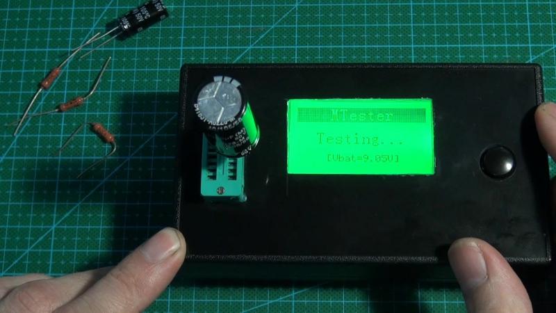 Тестер LCR-T4 Mega328 M328 мультиметр заменить крону на аккумулятор li - ion питания зарядная устройства...