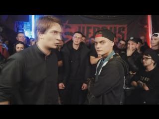 Rickey F (Рики Ф) - целый раунд про РАК! vs Sin (VERSUS BATTLE) [vk.com/poshumime]