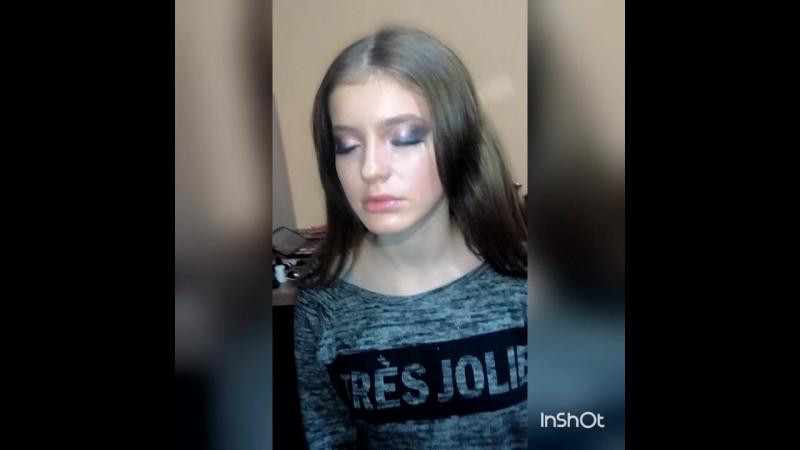 Любимая работа Макияж Дашуля my model my❤ makeup my work my live visage V P 🎨