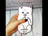 Чехол для Xiaomi Redmi 3s3Pro Нецензурный кот 3D