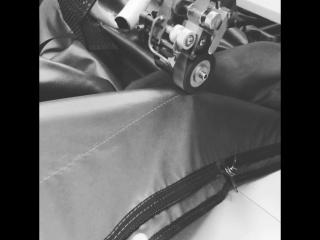 Проклейка швов на лодочных тентах
