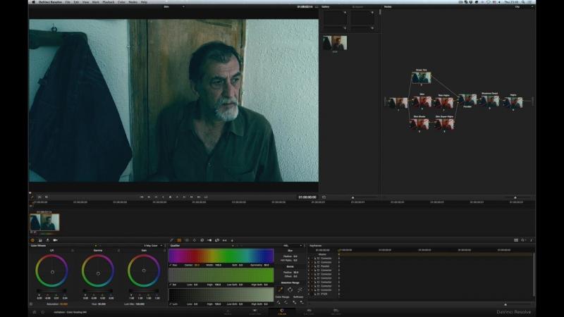 Цветокоррекция кожи в Davinci Resolve-HD
