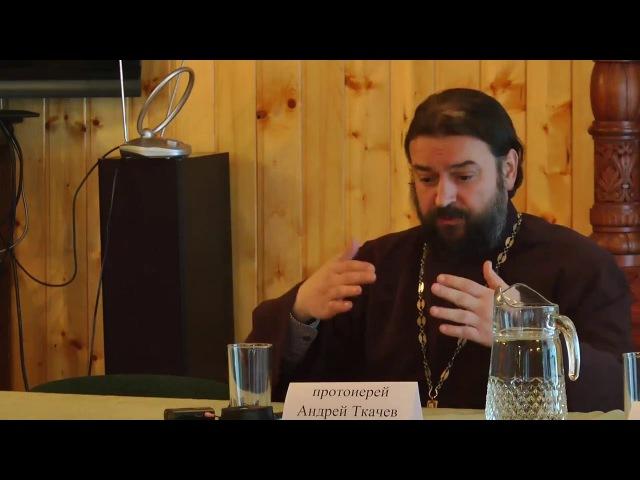 Батюшка протоиерей Андрей Ткачёв и семинаристы Курск вопросы Serafilm.ru серафилм се...