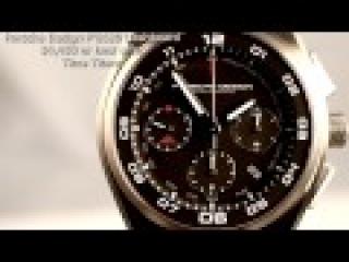 Porsche Design Dashboard Steel P'6620 Retail $5,800 100M 44MM Tachy Auto Chrono