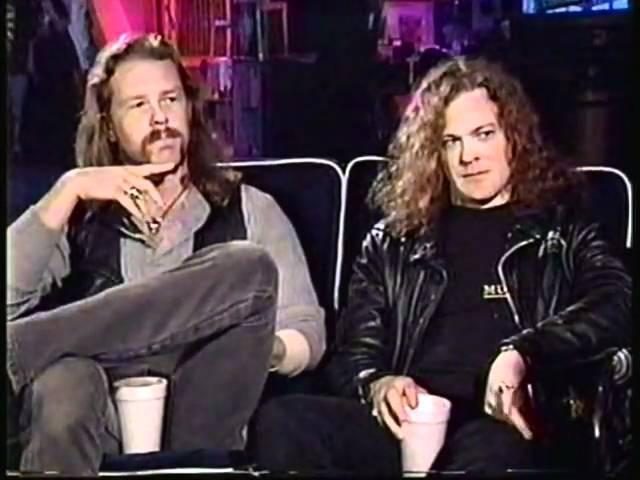 Metallica - HetfieldNewsted Much Music interview,1992 22
