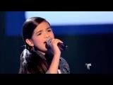 """Alejandra canta Rocio Dúrcal en """"La Voz Kids"""""""