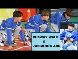 BTS - Taehyung, Jin and J-Hope runway walk like models at the 2016 ISAC