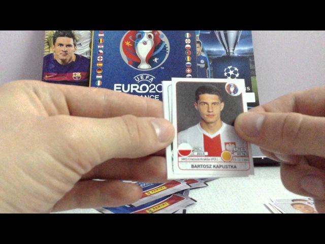 Наклейки PANINI FIFA EURO 2016 | TOPPS CHAMPIONS LEAGUE 2015/2016