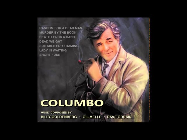 Columbo soundtrack - theme song - Background Music - Dave Grusin