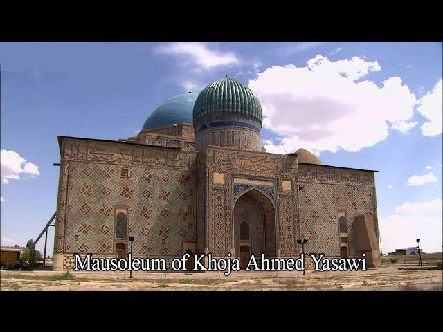 Mausoleum of Khoja Ahmed Yasawi (Full HD)