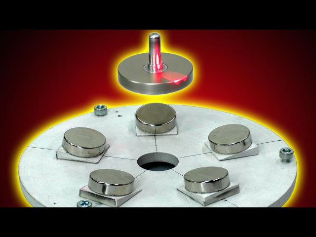 🌑 МАГНИТНАЯ ЛЕВИТАЦИЯ Magnetic game LEVITRON CASERO Antigravity ИГОРЬ БЕЛЕЦКИЙ