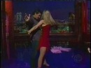 David Letterman Antonio Banderas and Marianne Hettinger salsa
