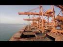 Huge cargo ships Voyage - Time-lapse