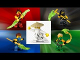 LEGO ninjago Jay, Kai, Cole, Kai, Nya, Zane  Sensei Wu  Garmadon, Lloyd new season and part