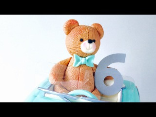 How to make a fondant Teddy Bear cake topper
