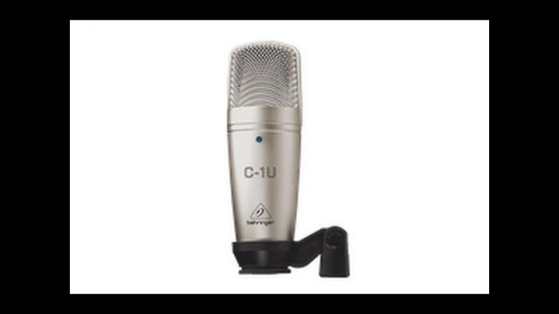 Behringer C-1U Driver, установочный драйвер для микрофона, микрофон,