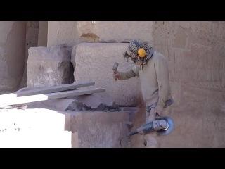 Реставрация по Египетски - Вандализм 21 века