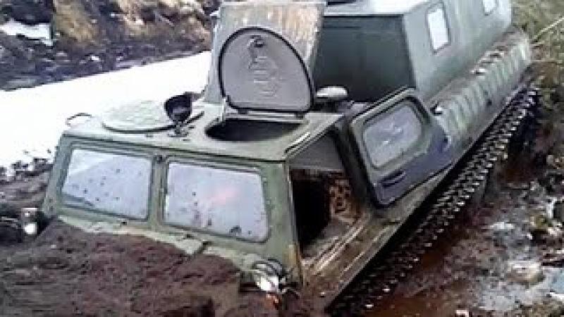 ГТ-СМ (ГАЗ-71) Газушка легендарный вездеход Крайнего Севера! ГТ-СМ в болте шо танк ...