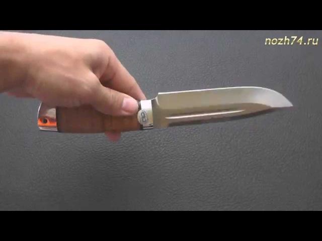 Нож Селигер (Береста, 110Х18М-ШД) - www.nozh74.ru