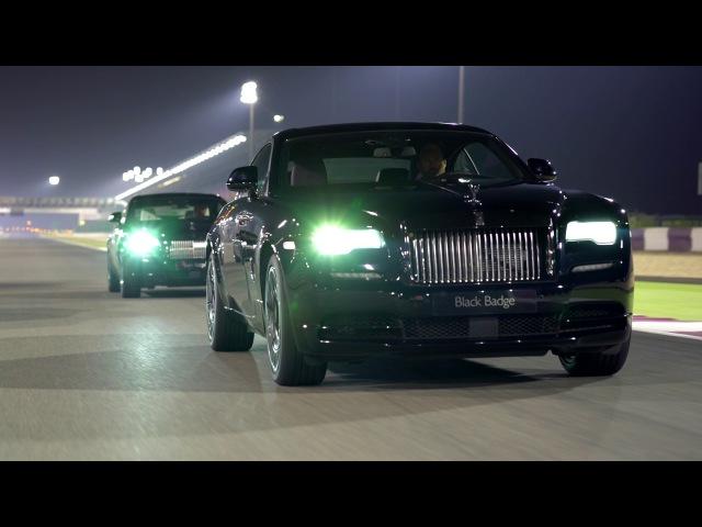 Rolls-Royce Motor Cars Doha Black Badge Track Experience Losail International Circuit November 2016